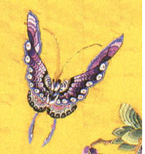 Chinese painting of butterfly
